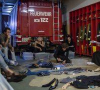 Nacht ohne Sterne szenische Lesung im Feuerwehrhaus (c) Karl Satzinger