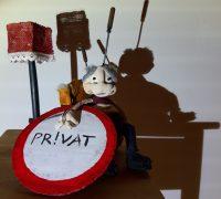 MOŽ! plakat_HUWP_carchive Miniature puppet theatre MOŽ!